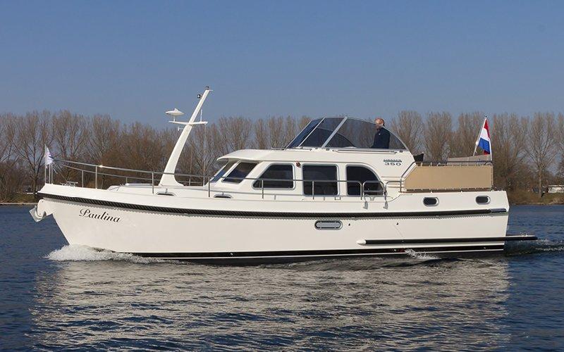 Linssen 350 AC Klasse Hausboot - Bootsferien Irland