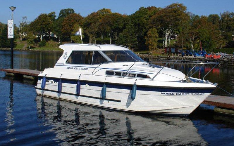 Noble Cadet Klasse Hausboot - Bootsferien Irland