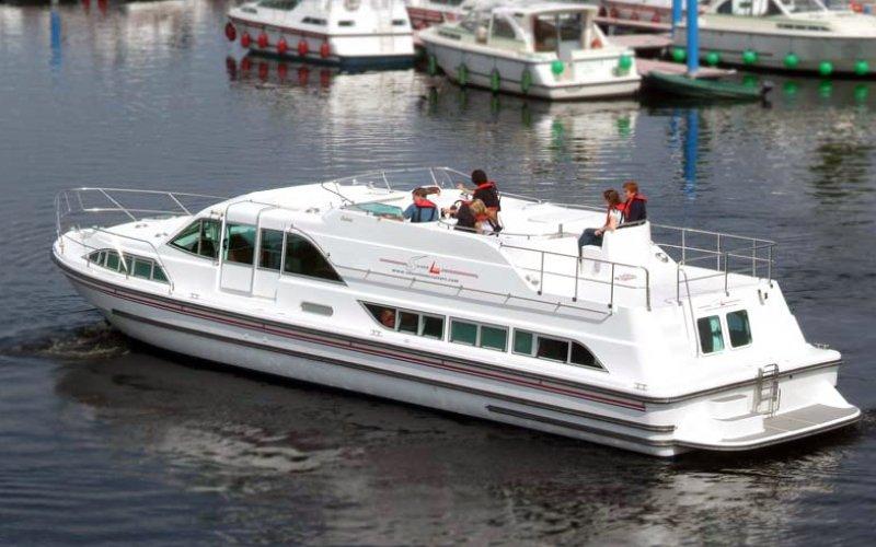 Silver Breeze - Bootsferien Irland